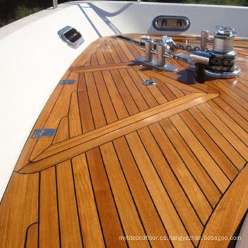 Precio de fábrica Cubierta marina de madera de la teca del yate marino de lujo para el barco