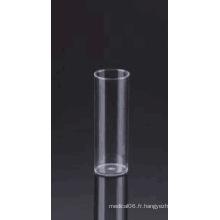 Flacon de drosophile étroit à fond plat 25 * 95 PS