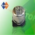 10V 100UF SMD estándar aluminio condensador electrolítico (TMCE24)