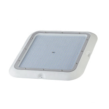 Patented DIP technology 260lm/W chip exterior canopies IP67 flood light with stirrup bracket petroleum fixture gas station light