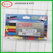Clip on shelf blister card set promoting with chalkboard chalk marker