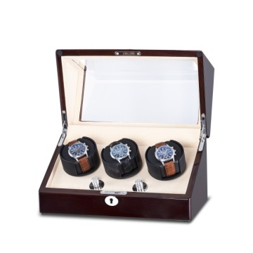 Triple-rotor Watch Winder Dengan PE Finish