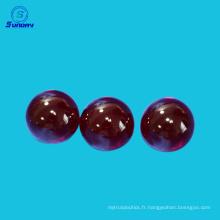 Lentille de boule optique de précision et lentille de demi-boule