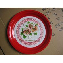 Rote Farbe Heiße Verkaufs-Emaille-Platte