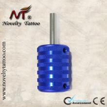 N301003-35mm Blue Grip tubos de alumínio da liga do tatuagem da máquina