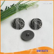 Кнопка из сплава цинка и металлическая кнопка и металлическая швейная кнопка BM1647