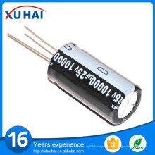 A través del agujero 1500UF 200V condensador electrolítico de aluminio Precio