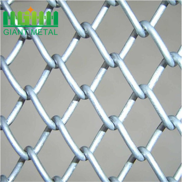 Rantai Link Pagar Top Berduri Wire Security Chain Link Fence