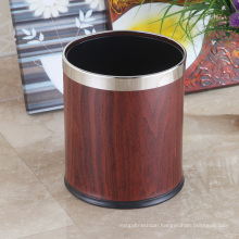 High-End Stainless Steel 10L Open Top Round Waste Bin (K-10LB)