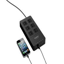 Chrismas ORICO HPC-6A5U 6 prises électriques avec 5 USB HUB