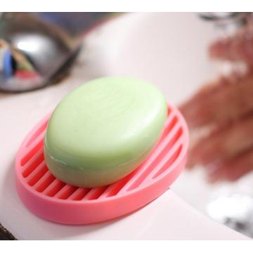 Eco-friendly para o Home Hotel Silicone Soap Holder Dish