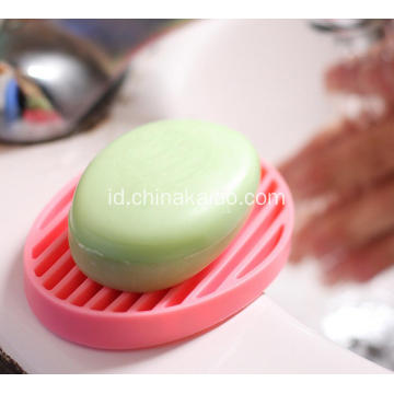 Silicone Gift Custom Color Yellow Holder Soap Dish