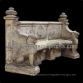 Stone Marble Antique Garden Chair for Garden Decoration (QTC066)