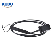 China factory cheap straight surfboard sup leash with customized colors