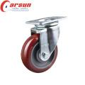 Rodízio Giratório Rotativo de 90mm com Roda de PU
