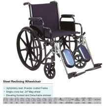 Elevating Footrest and Detachable Armrest Wheel Chair