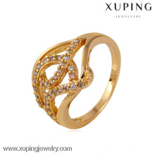 K11523 China Wholesale Xuping Fashion Elegant 1Gold-plated Woman Ring