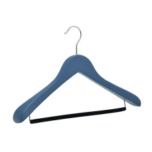 custom natural wood hangers wooden clothes hanger with logo for boutique and brand clothes