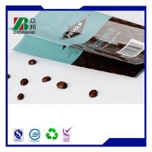 Настройте пакеты для упаковки кофе в боковые лапы с дегазационным клапаном