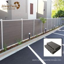 Durable Wood Grain Alu-WPC Outdoor Fence