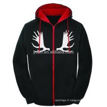 Faible quantité personnalisé propres pulls à capuche conception bon marché prix xxxxl hoodies et sweat