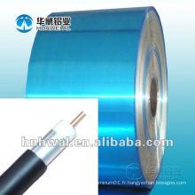 Bande d'aluminium avec PET pour le câblage des câbles