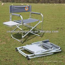 Раскладное кресло директора с таблицей - крытый/открытый складной стул