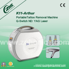 K11 Laser Q Switch ND YAG Laser Supprimer le tatouage