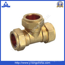Brass Tee Pipe Fitting for Pex Fitting (YD-6038)