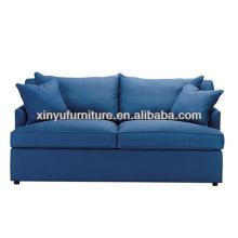 Modern blue fabric living room sofa XY0904