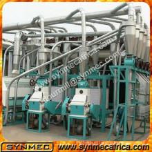 molino de maíz de China procesa la máquina de molienda de maíz para la venta