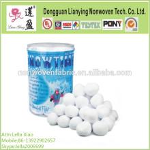 Polyester Fiber Snow Ball for Christmal Decoration