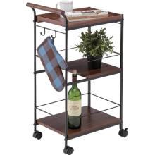 Deslizadores de mesa de cozinha com rodízios Interiores interiores de armazenamento Mesa de bilhar de cozinha