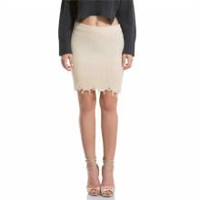 Ladies Short Knitting Shirt pour le printemps et l'automne