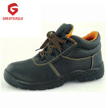 Zapatos de seguridad para el trabajo de cuero con punta de acero