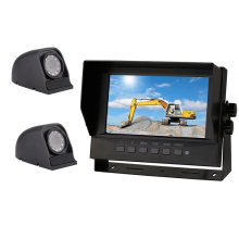 System Virtual Truck View 1080 Starlight Waterproof Mounted 1080p Full Hd Camera Car Dash Side Cam