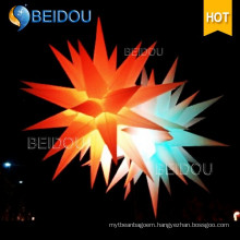 Large Event Stage Wedding Party Decoration Jellyfish Lighted Inflatable Star