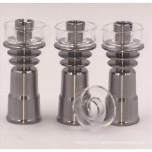 Noyau de titane Domingue novateur 14mm avec cuvette à quartz