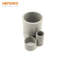 Anti-Corrosion Sintered metal powder micron pore stainless steel 316l sintered filter tube