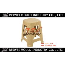 Plastic Rattan Stool Mould