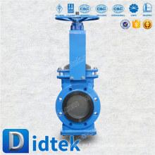 Didtek Import & Distribute la válvula de compuerta del cuchillo de la mezcla