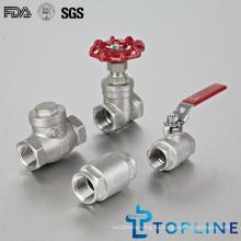 Промышленные клапаны из нержавеющей стали (проверка, шарик, затвор)