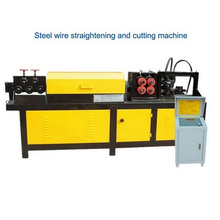 Stålspole straightening and cutting machine
