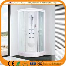 Weiß lackierte Aluminiumrahmen Duschkabine (ADL-822)