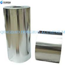 Lámina de aluminio brillante para laminación