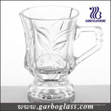Nouvelle tasse en verre design avec poignée