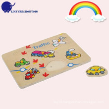 Wooden Traffic Puzzle Toy