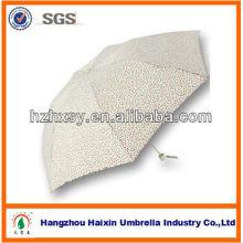 7K pongé pliable Mini parapluie tissu facile à porter