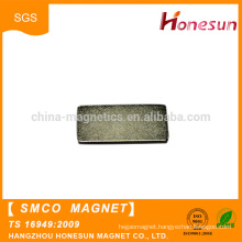 Hot selling Permanent Smco Magnet Big Block Magnet for Adjustable