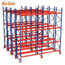 heavy duty warehouse storage double-deep pallet rack